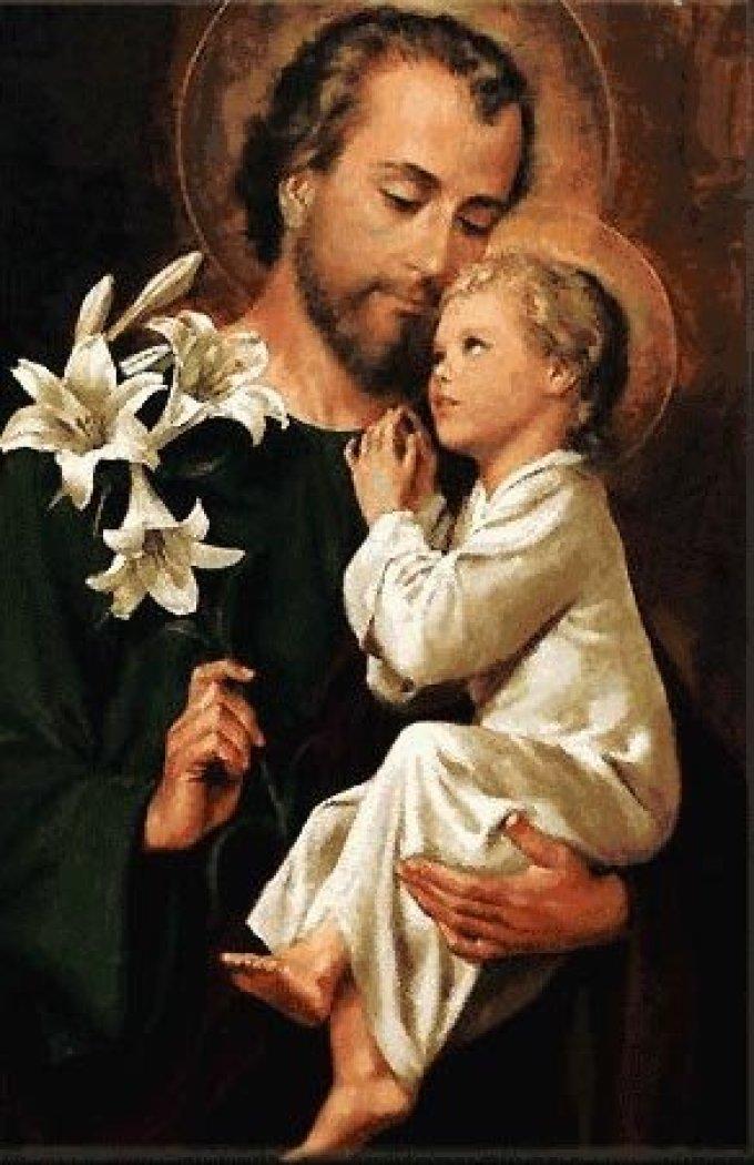 Saint Joseph, patron de la bonne mort et des âmes du Purgatoire