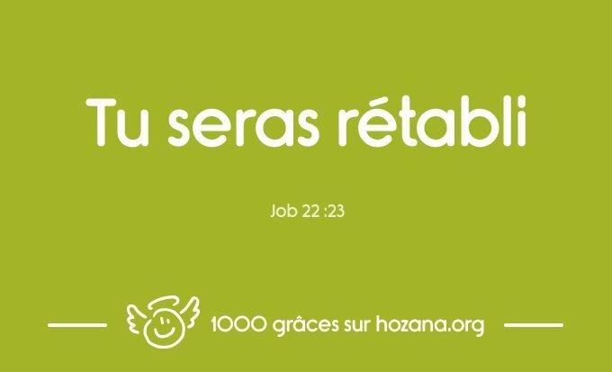 Jour 29 - Dieu est Fidèle