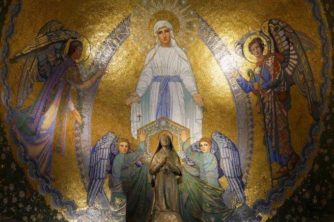 Salutation à la Vierge