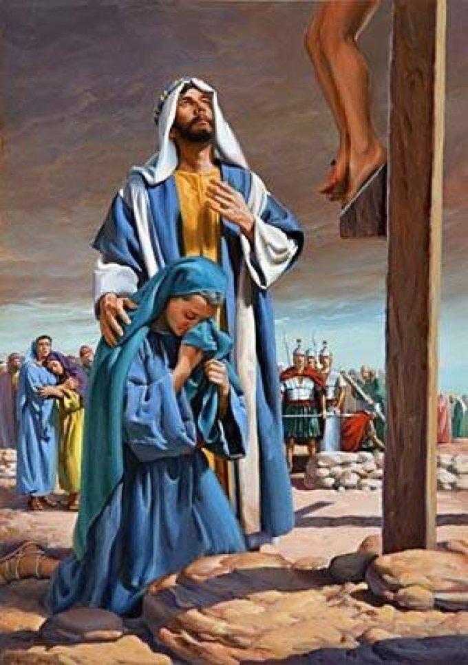 Marie, Mère de douleurs, priez pour nous