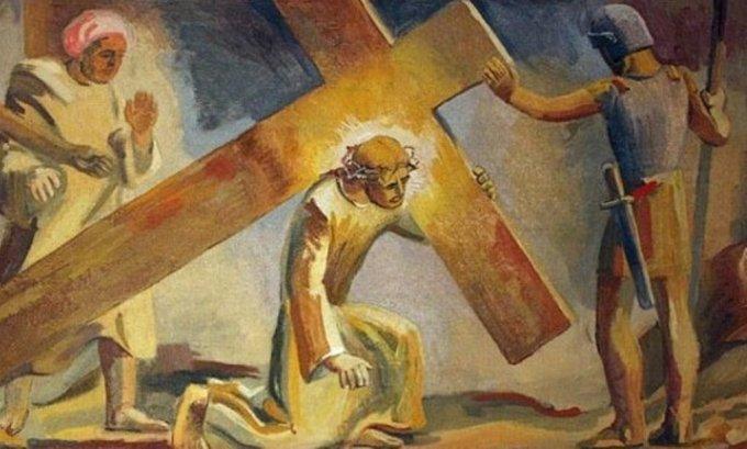 Pèlerinage spirituel de 14 jours, pour vivre le chemin de la croix au quotidien.