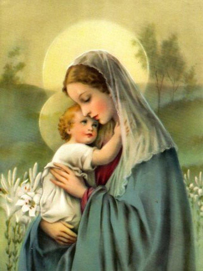 Dévotion à Marie, selon le Pape François