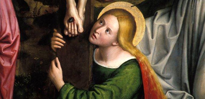 Vendredi saint - Marie-Madeleine au pied de la croix