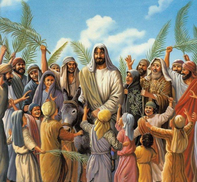 """9ème et dernier jour de la neuvaine: """"Hosanna au Fils de David!"""""""