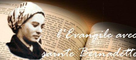 L'Évangile avec sainte Bernadette