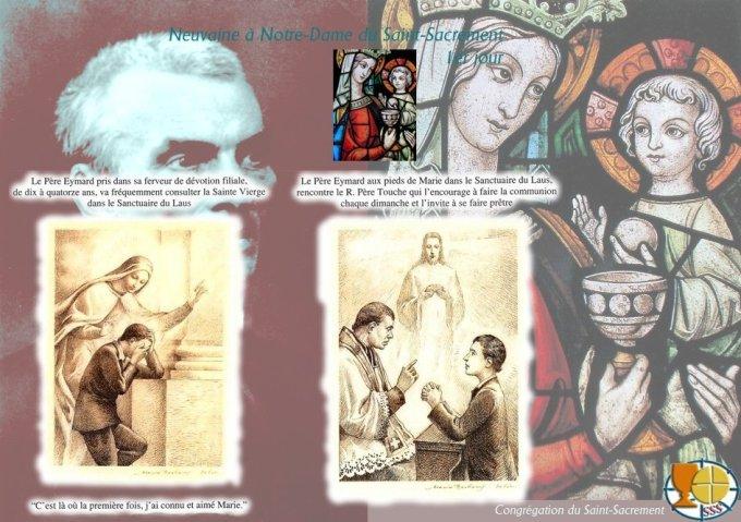 9aine à N-D du St Sacrement — 1er jour Sur l'amour de Dieu en l'Incarnation