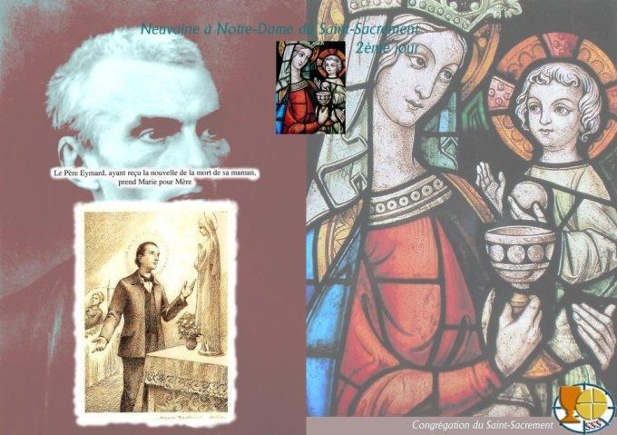 9aine à Notre-Dame du Saint Sacrement — 2ème jour : Très Sainte Vierge