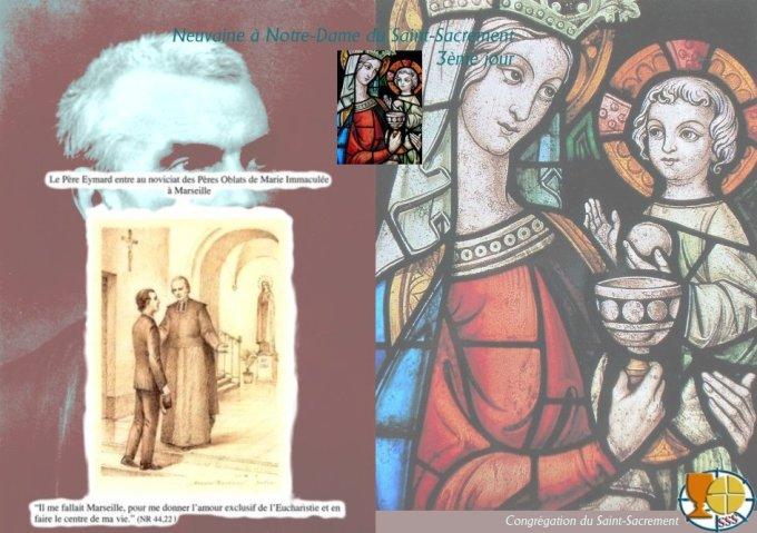 9aine à N-D du St Sacrement — 3è jour : Mystère de l'Incarnation