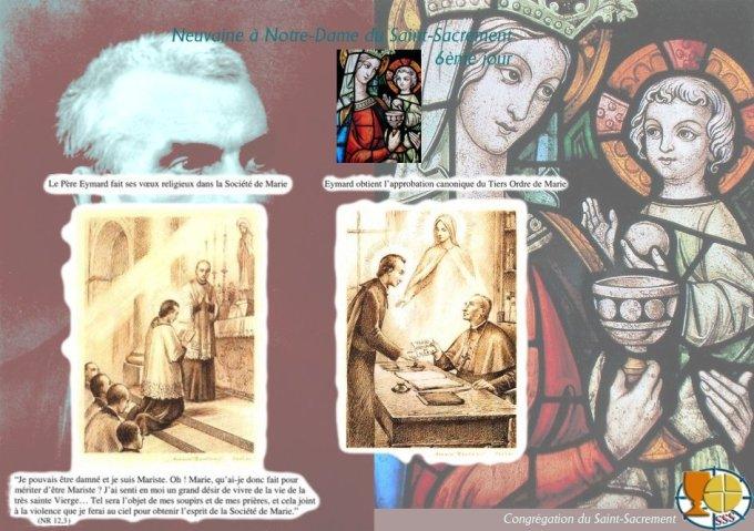 9aine à N-D. du Saint Sacrement — 6ème jour : Joyeuse reconnaissance