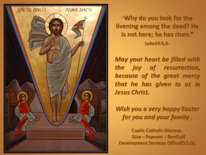 Joyeuse et Sainte fête de Pâques