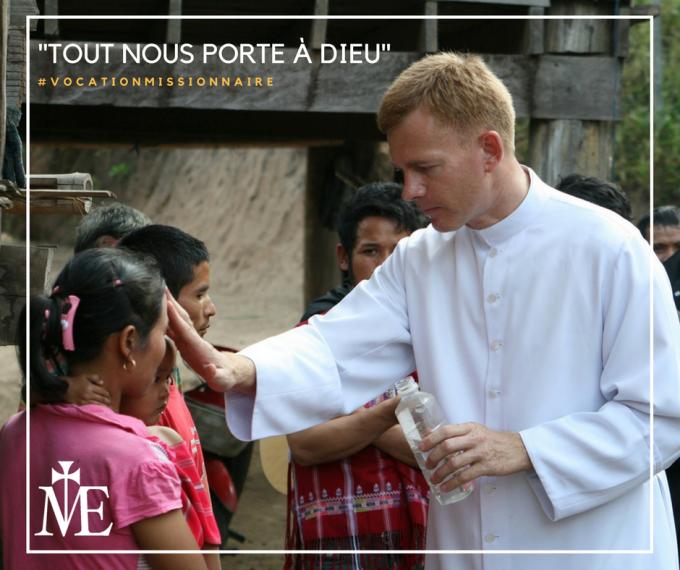 Prier pour les vocations : la vocation missionnaire, la joie sacerdotale