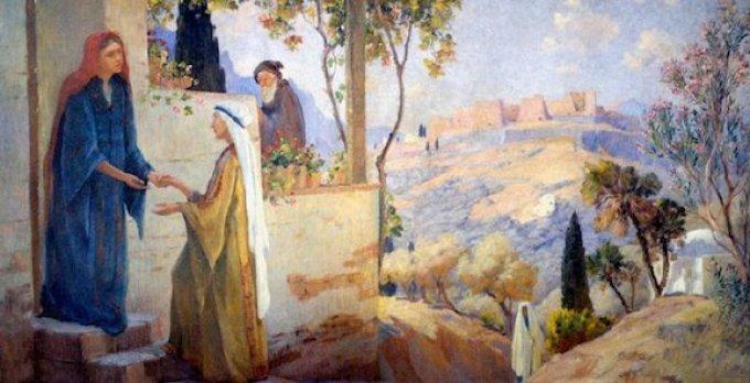 31 mai : Quand Marie visite Élisabeth