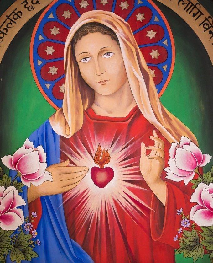 JOUR n°5 – Le Coeur immaculé de Marie