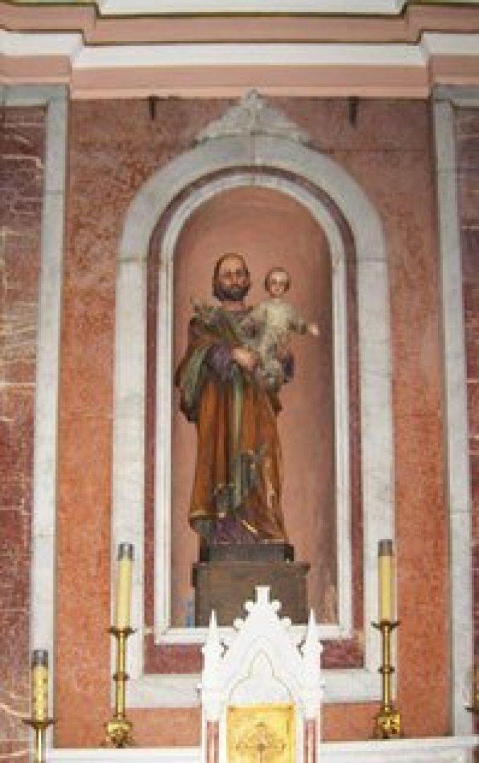 Saint Joseph, qui avait été exempt du péché mortel, priez pour nous
