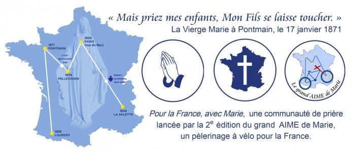 Pour la France, avec Marie
