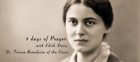 Nine days of Prayer with Edith Stein