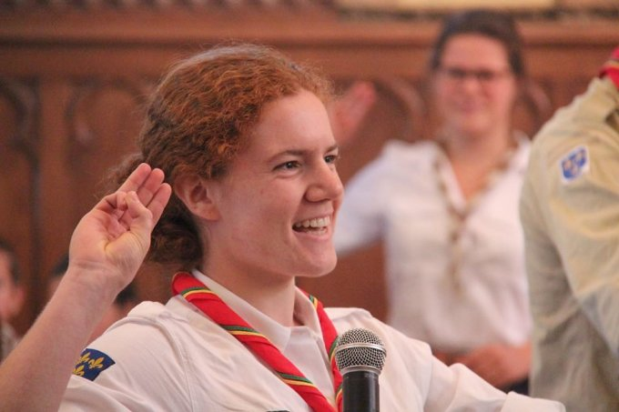 Alix, scout et traductrice pour Hozana