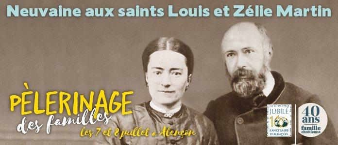 Neuvaine aux saints Louis et Zélie Martin