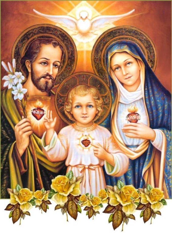 Saint Joseph, très chaste époux de Marie , priez pour nous