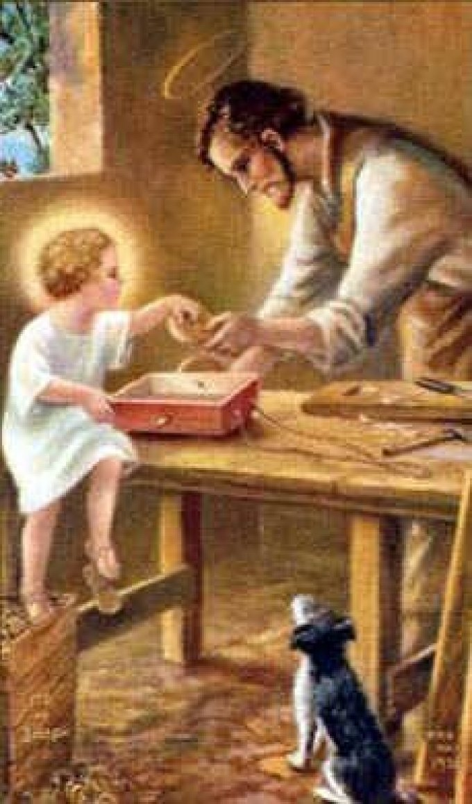 May our fathers be enduring – St Joseph mirror of patience