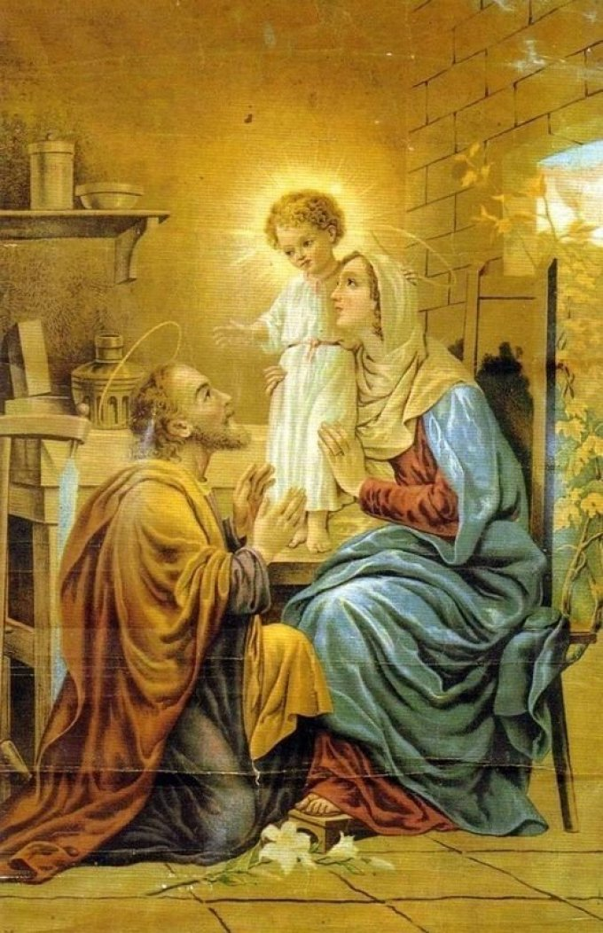 May our fathers be meek – St. Joseph lover of poverty
