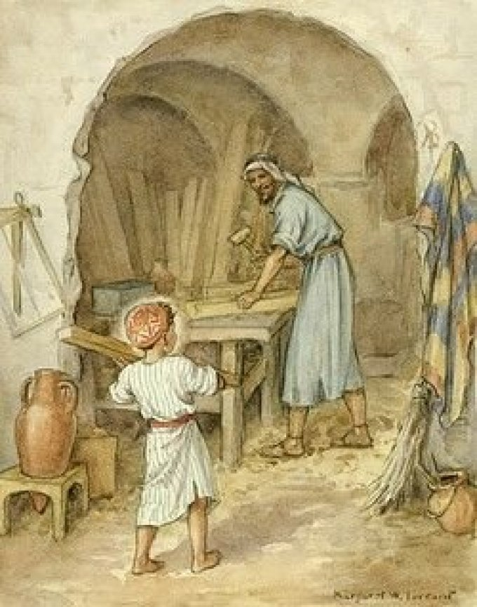 Saint Joseph, modèle des ouvriers, priez pour nous