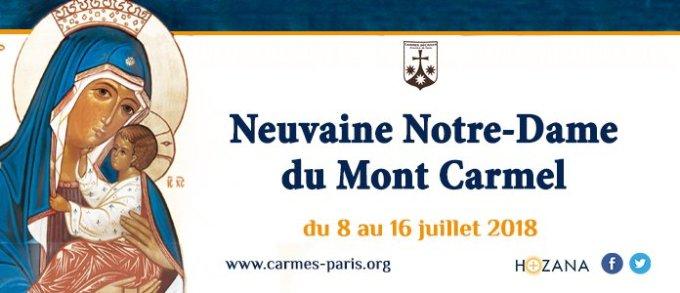 Neuvaine Notre-Dame du Mont-Carmel 8-16 juillet 2018