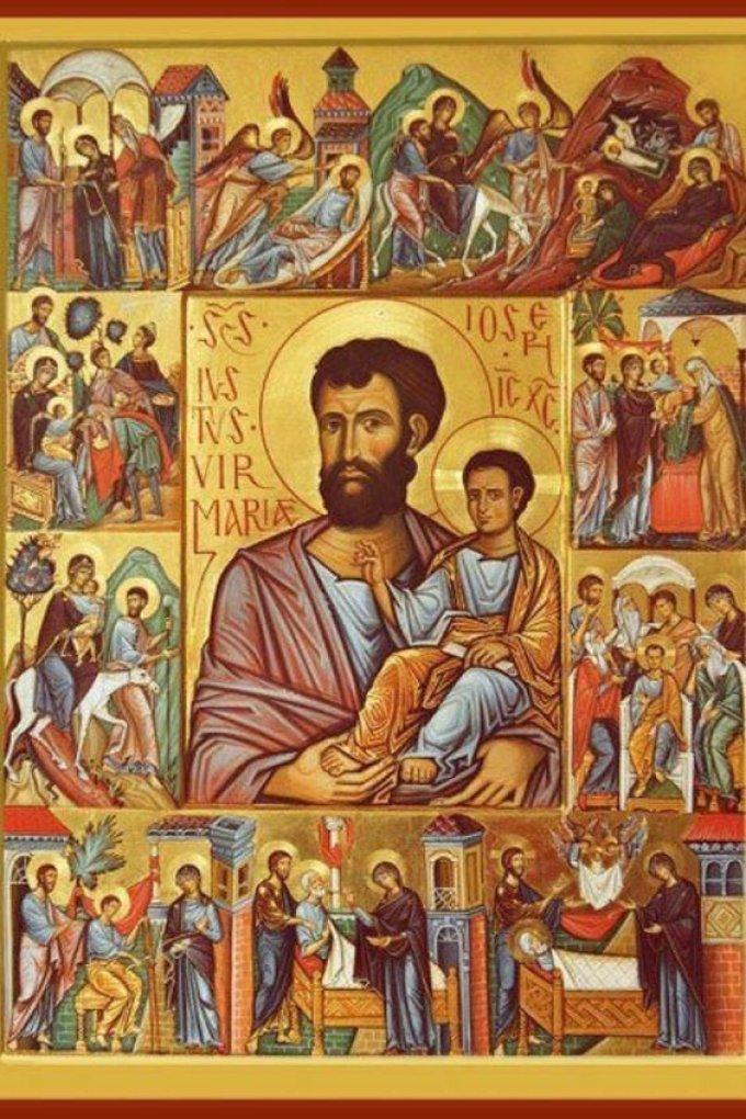 Saint Joseph, priez pour nous
