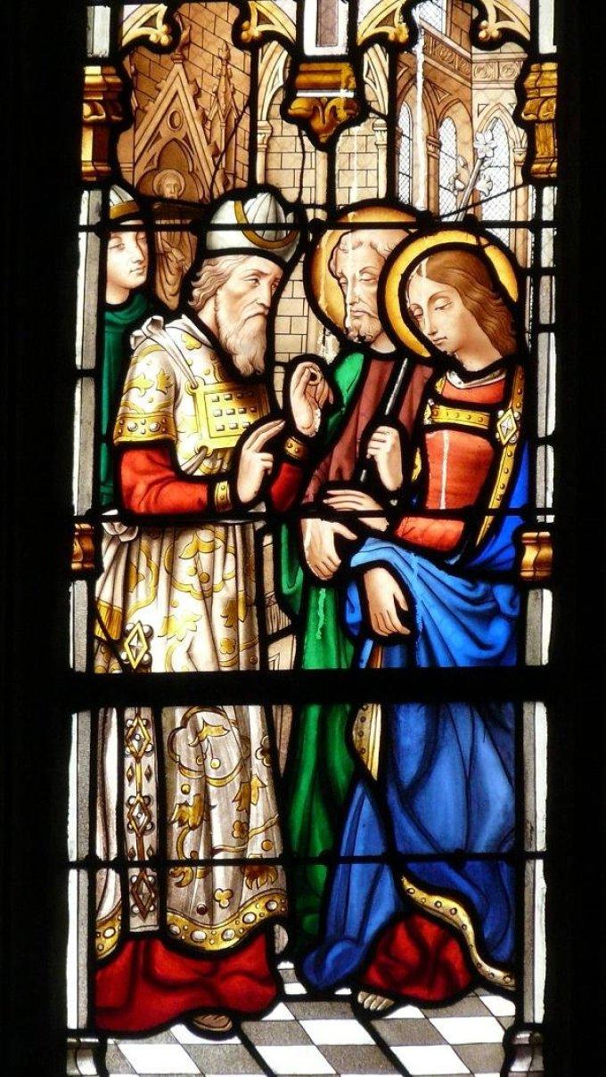 Saint Joseph, choisi pour être l'époux de Marie, priez pour nous