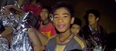Thaïlande: Prions pour le sauvetage des 12 enfants