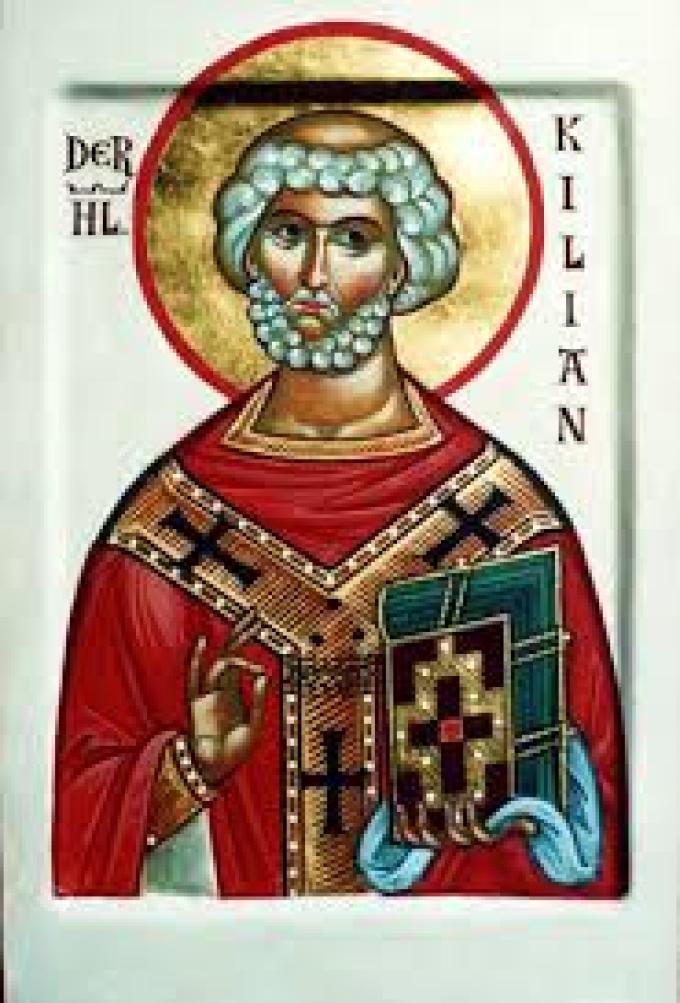 Le 8 juillet : Saint Kilien