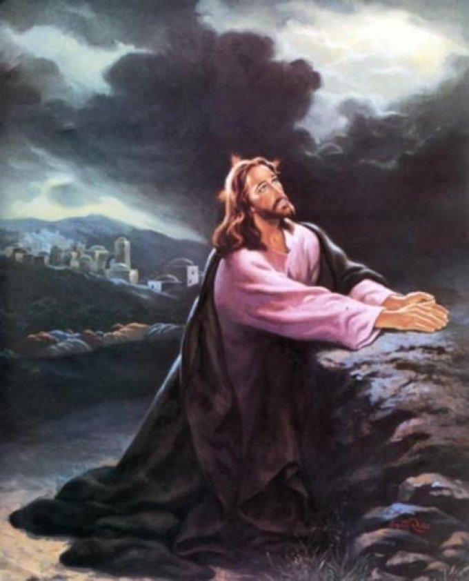 Délaissement général ressenti par Notre Seigneur