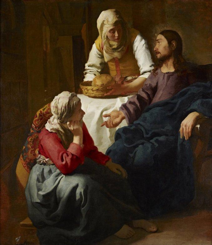 La contemplación: Marta y María