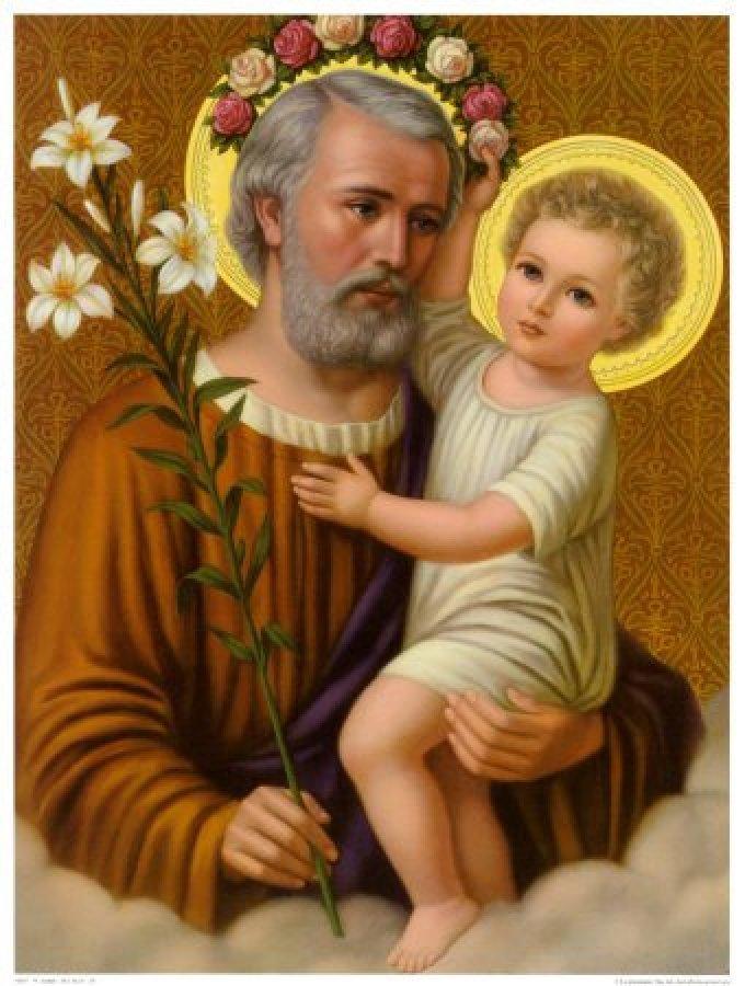 Saint Joseph, qui comme les vertus célestes, avez servi Jésus, priez pour nous