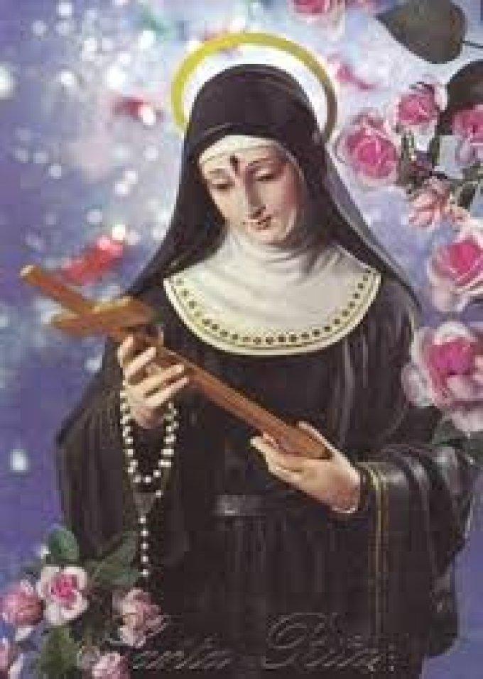 Sainte Rita, prie pour nous et les oubliés de l'été