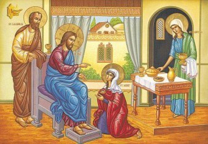 Day Three - Mary and Martha