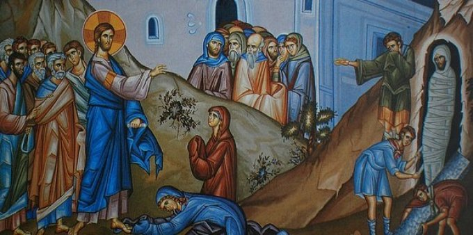 Day Four - The Resurrection of Lazarus
