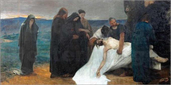 Day Seven - The burial of Christ