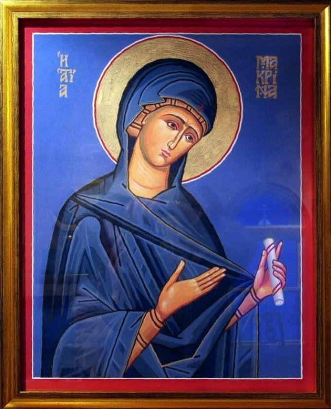 Le 19 juillet : Sainte Macrine la Jeune