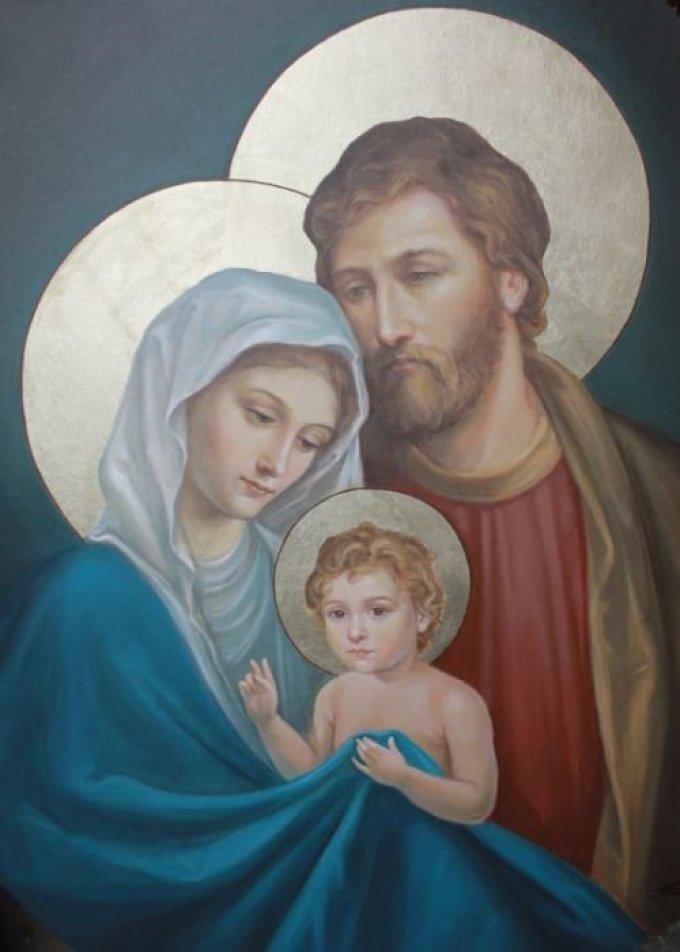 Saint Joseph, qui, le premier après la Vierge Marie avez adoré Jésus....