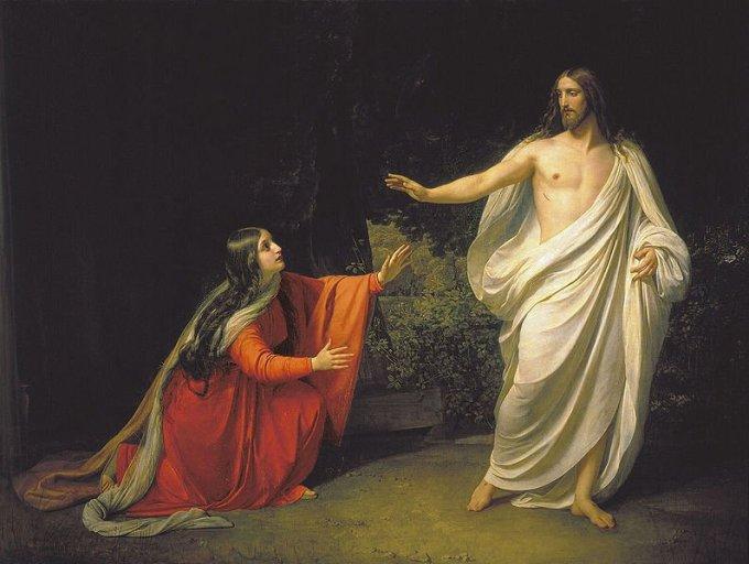 Jour 9 - Prions avec Sainte Marie-Madeleine