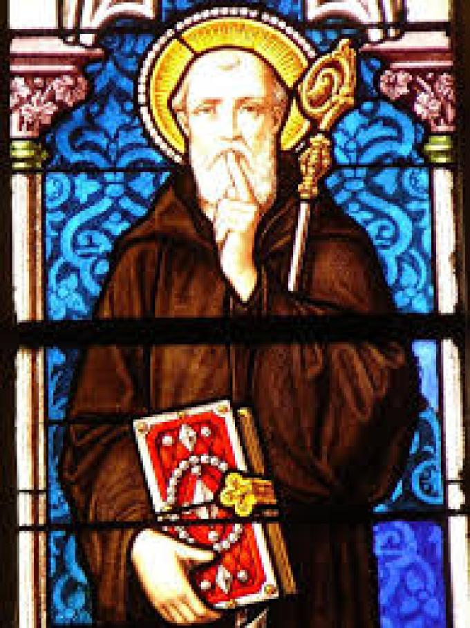 Le 22 juillet : Saint Wandrille
