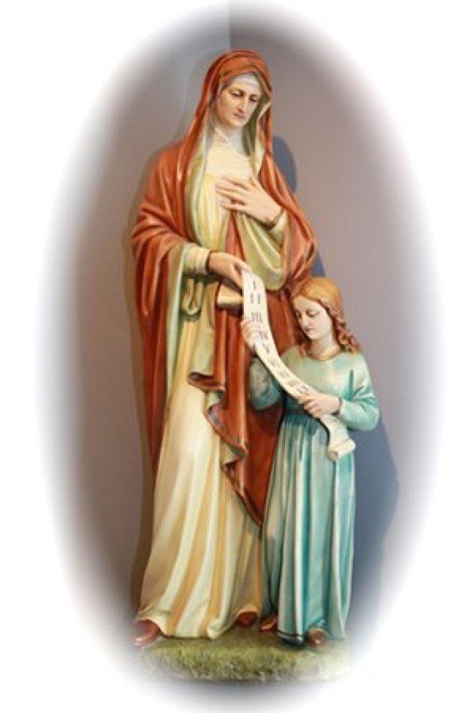 Ô glorieuse Sainte Anne pleine de bonté priez pour tous ceux qui souffrent