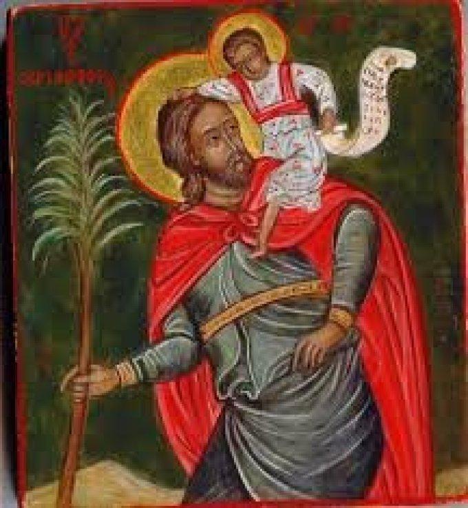 Le 25 juillet : Saint Christophe