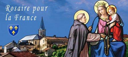 Rosaire pour la France