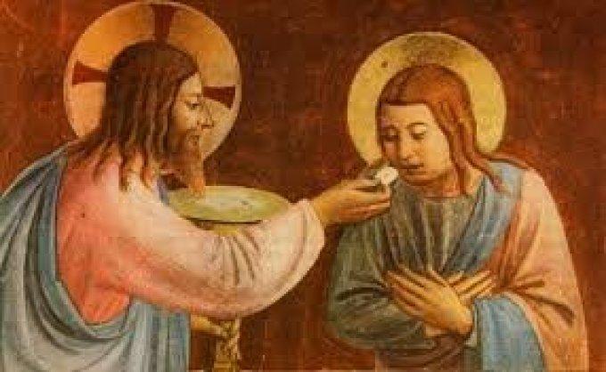 L'Institution de L'Eucharistie:  Le Sacrement de l'amour!