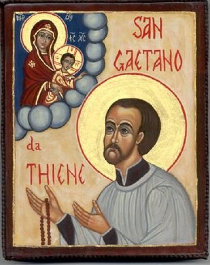 Le 7 août : Saint Gaétan de Thiene