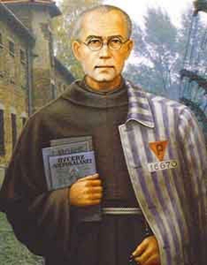 Le 14 août : Saint Maximilien Kolbe