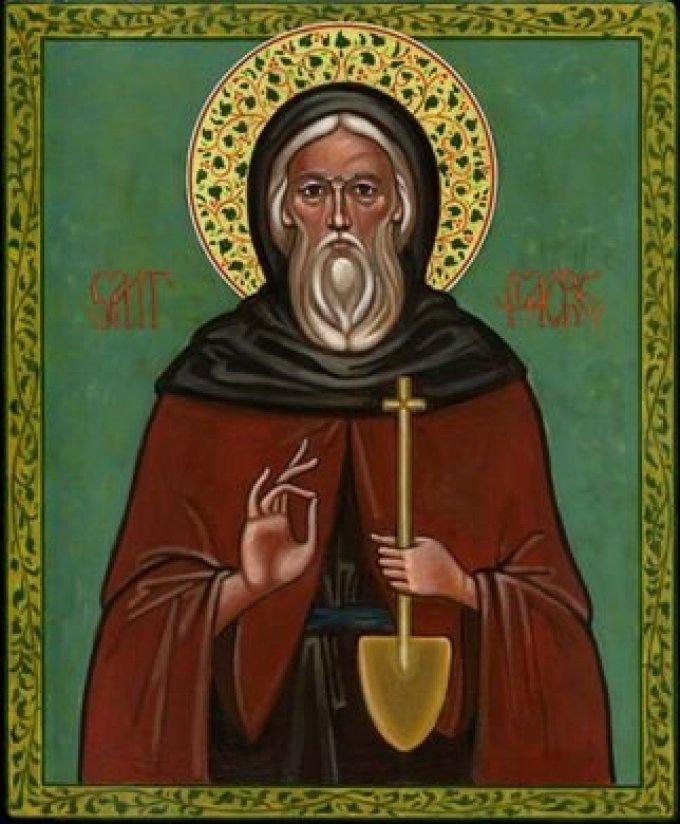 Le 30 août : Saint Fiacre