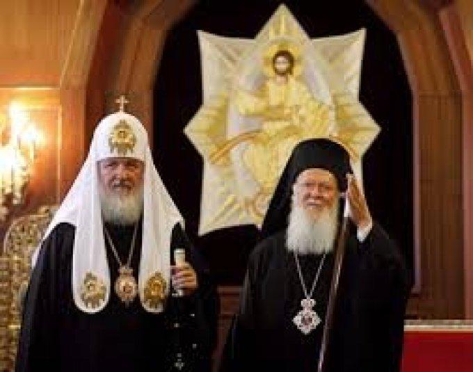 Pour la rencontre des patriarches orthodoxes